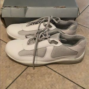 Prada Vernice Bike Sneakers Shoes